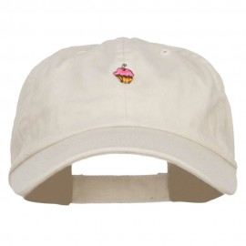 Mini Cupcake Embroidered Low Cap