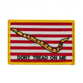 USA Flag Style Embroidered Patch - Navy Jack