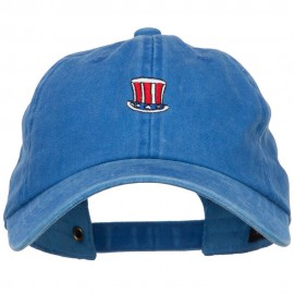 Uncle Sam Embroidered Unstructured Cap
