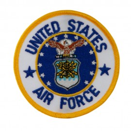 United States Air Force Embroidered Circular Shape Military Patch