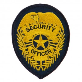 USA Security and Rescue Embroidered Patch - Security Officer