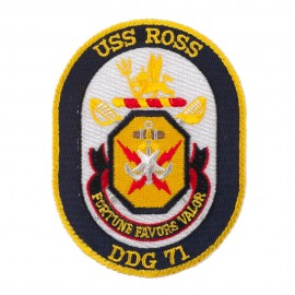 USS Twisted Rope Patches