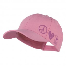 US Army Woman's Peace Love Military Cap
