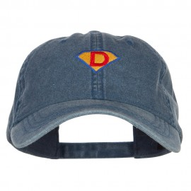 Super D Embroidered Washed Cap