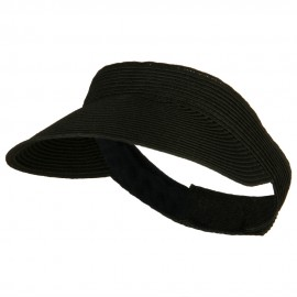 UPF 50+ Crushable Toyo Sun Visor - Black