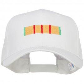 Vietnam Campaign Ribbon Embroidered Twill Cap