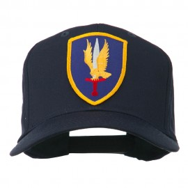 1st Aviation Army Shield Patched Cap - Navy