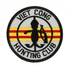Veteran Embroidered Military Patch - Viet Cong