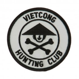 Veteran Embroidered Military Patch - Viet Cong 2
