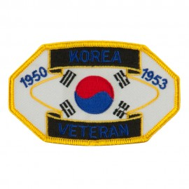 Veteran Embroidered Military Patch - Korea Veteran