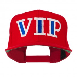 VIP Flat Bill Embroidered Cap