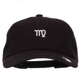 Virgo Zodiac Sign Embroidered Unstructured Cap