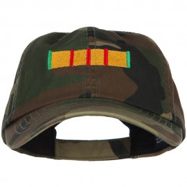 Vietnam Campaign Ribbon Embroidered Enzyme Camo Cap