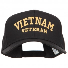 Vietnam Veteran Letters Embroidered Twill Cap