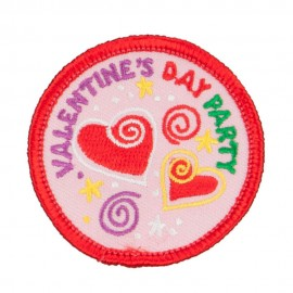 Valentine's Day Party Patches