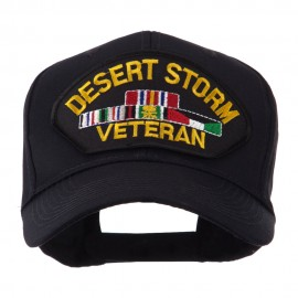 Veteran Military Large Patch Cap - Desert Storm