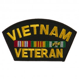 Big Size Veteran Military Large Patch - Vietnam Veteran