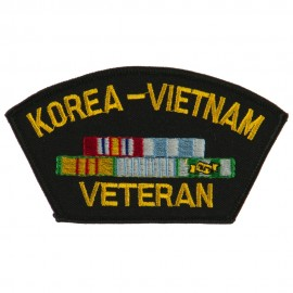 Big Size Veteran Military Large Patch - Korea Vietnam
