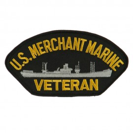Big Size Veteran Military Large Patch - Merchant MC