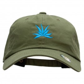 Blue Agave Embroidered Washed Cap