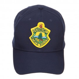 Vermont State Police Patched Cap