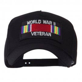 Veteran Rectangle Shape Patch Cap - WW2