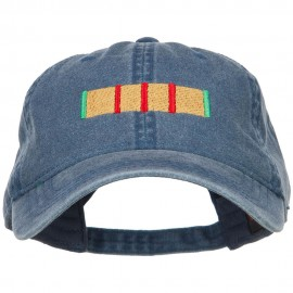 Vietnam Service Ribbon Embroidered Washed Cap