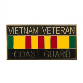 Vietnam Veteran Ribbon Cloisonne Military Pins