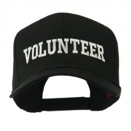 Volunteer Wording Embroidered Cap