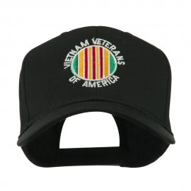 Vietnam Veterans of America Badge Embroidered Cap