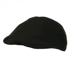 Duck Bill Wool Ivy Cap - Black
