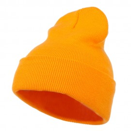 Super Stretch Knit Watch Cap Beanie - Gold
