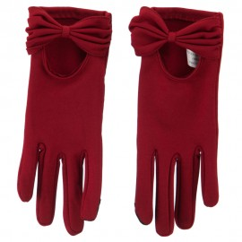 Women's Bow Texting Gloves