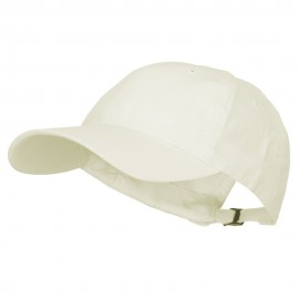 Low Profile Light Weight Brushed Cap - Natural