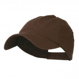 Washed Ball Cap - Brown