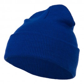 Super Stretch Knit Watch Cap Beanie - Royal