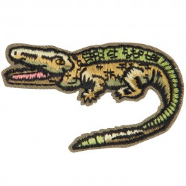 Wild Animal Embroidered Patch