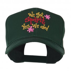 We Got Spirit Yes We Do Embroidered Cap