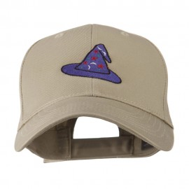 Halloween Wizard Hat Embroidered Cap