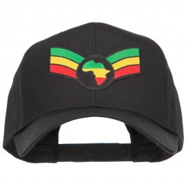 Crown Wing Africa Patched Cap