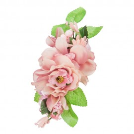 Women's Flower Trim Hair Clip