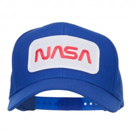 NASA Letter Patched Youth Wool Cap