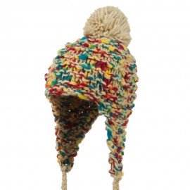 Women's Multi-Color Acrylic Trapper Hat
