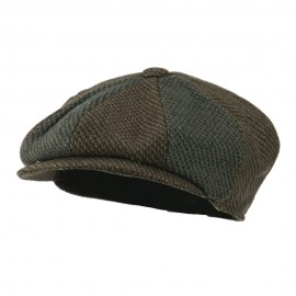 Men's Wool Blend 8 Panel Cap