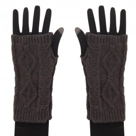 Women's Cable Fingerless Arm Warmer