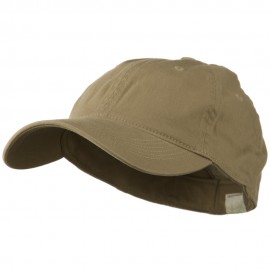 Washed Natural Fit Cap - Khaki