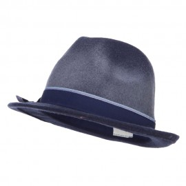 Women's Two Tone Wool Fedora