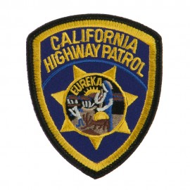 Western State Police Embroidered Patches - CA Hwy