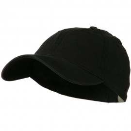 Washed Natural Fit Cap - Black