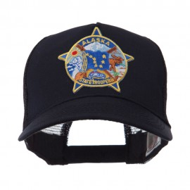 USA Western State Police Embroidered Patch Cap